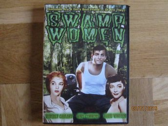 Swamp women, DVD film, Roger Corman, kult, made in USA. regions fri, 1955