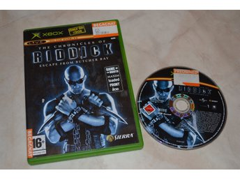 The Chronicles of Riddick Escape from Butcher Bay XBOX Fint Skick