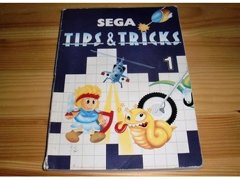 Bok: Sega Tips & Tricks 1 (trasig)