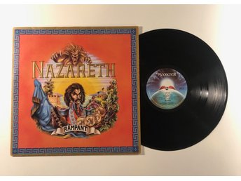 Nazareth Rampant Mooncrest Original!