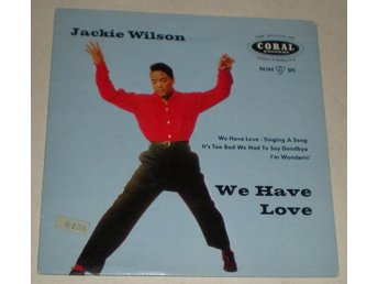 Jackie Wilson OMSLAG EP We have love 1959