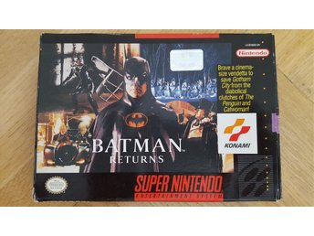 Batman returns till super nintendo (SNES) USA import