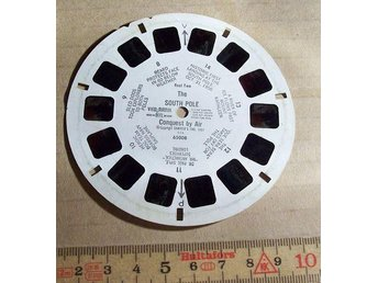 VIEW-MASTER SKIVA. The SOUT POLE Conquest by Air (reel two)