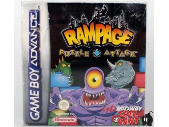 Rampage Puzzle Attack (inkl Skyddsbox)