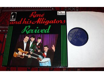 RENE & ALLIGATORS Surf Rock Holland 1960's  Fontana Rock Lp