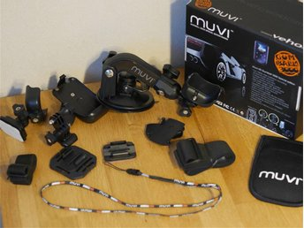 Action camera mounts & accessories (Veho Muvi)