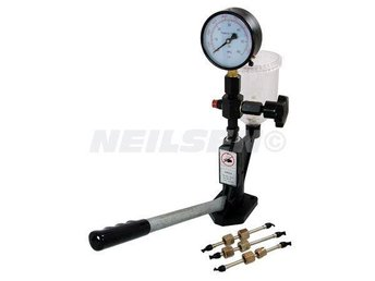 Injector Nozzle Tester for Diesel Engines With Gauge 0-60 MPA