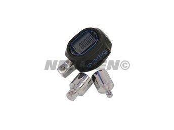 "Electronic Digital Torque Adaptor Tool Set ½ 3/8 or ¼"" Drive 40 - 200 Nm - Sheffield - Electronic Digital Torque Adaptor Tool Set ½ 3/8 or ¼"" Drive 40 - 200 Nm - Sheffield"
