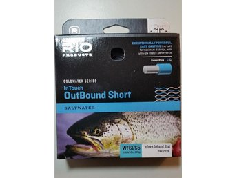 Helt ny !  Rio Coldwater  Intouch Outbound Short WF6 Int/S6  Saltwater