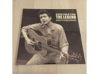 BOB DYLAN - CONSTRUCTING THE LEGEND. LIMITED 2-LP