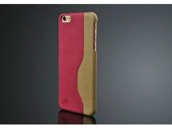 Fiber Case With Card Slot iPhone 6+ rosa