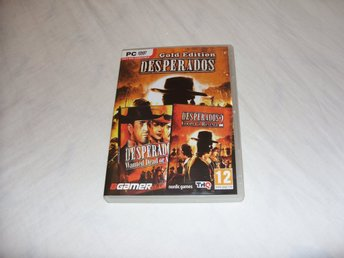 Desperados 1 & 2 Gold Edition PC DVD ROM THQ 2013 Engelsk Strategy Wild West