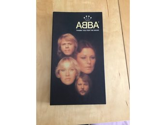 "ABBA CD-box ""Thank you for the Music"" 4xCD Limited Edition"