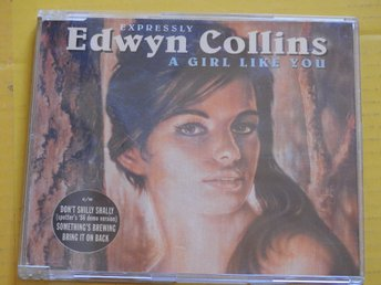 Edwyn Collins - A Girl Like You CD Maxi Single 1994