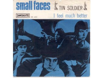 "SMALL FACES - Tin Soldier  7"" Singel  Norge/Danmark"