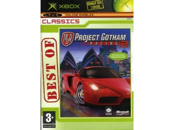 PROJECT GOTHAM RACING 2   - XBOX spel