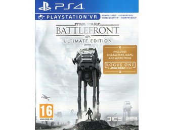 "PS4-spel ""StarWars Battlefront - Ultimate Edition"""