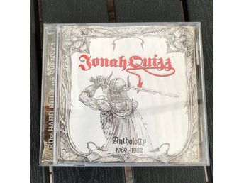 Jonah Quizz - Anthology 1980-1982 (CD) [Candlemass]