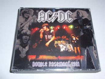 AC/DC - DOUBLE ROSEMONT 1981 3CD / LIVE USA VERY RARE LIMITED!