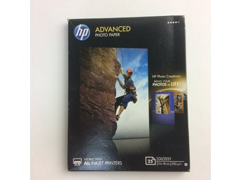 HP, Fotopapper, Advanced Photo Paper, Glossy