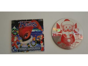 Christmas Nights into dreams... Sega Saturn PAL