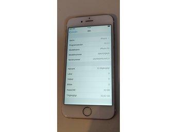 Batteri och laddare till iPhone 6S mobiltelefon