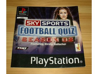 Manual PS: Sky Sports Football Quiz Season 02
