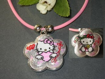 Nytt Halsband med Hello Kitty