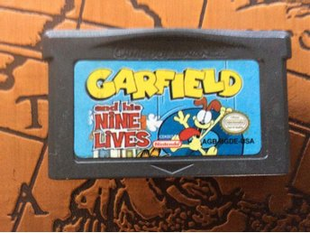 Garfield And His Nine Lives till Game Boy Advance - Smålandsstenar - Garfield And His Nine Lives till Game Boy Advance - Smålandsstenar