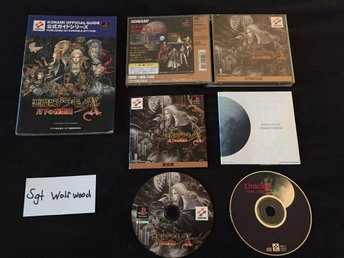 Castlevania Symphony of the Night special edition + officiel guide *Jap*