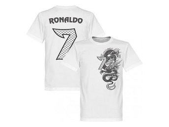 Real Madrid T-shirt Ronaldo Dragon Vit XL