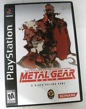 Metal Gear Solid (USA) - Playstation