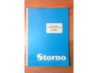 Servicemanual Stornophone 800