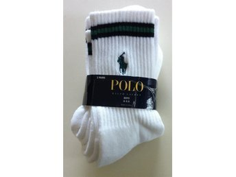 POLO RALPH LAUREN 3/Pack Socks Strl: Boys 8-9,5