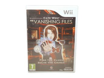 Cate West: The Vanishing Files (NYTT / UKV / Wii)