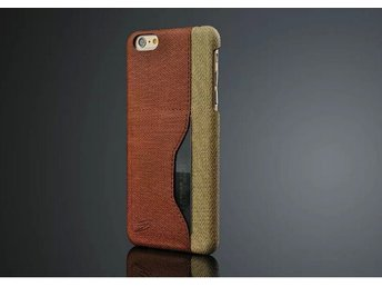 Fiber Case With Card Slot iPhone 6+ brun