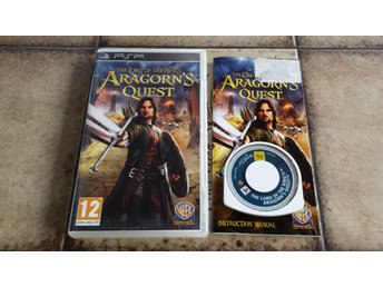 Lord of the Rings Aragorn's Quest Sagan om Ringen Sony PSP