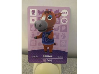 Animal Crossing Amiibo Welcome Amiibo card nr 350 Elmer