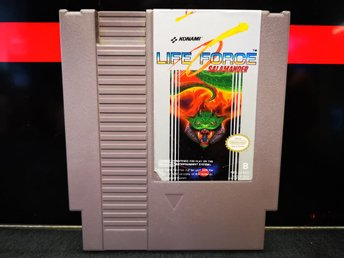 Life Force / SCN / NES / 8-Bit