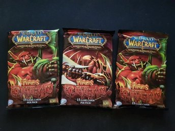 3st World of Warcraft TCG Kort - Fires of Outland Booster Pack