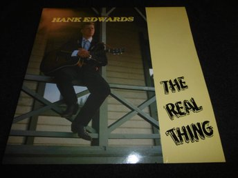 Hank Edwards - The real thing - LP - 1989