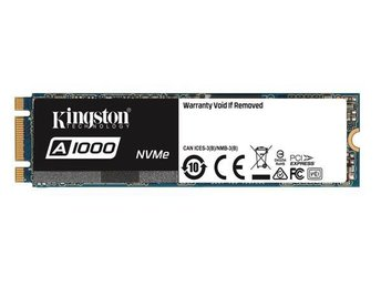 Kingston A1000 M.2 NVMe SSD 480GB  (2280)