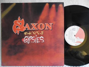 SAXON - ROCK 'N' ROLL GYPSIES - ENIGMA 3370-1