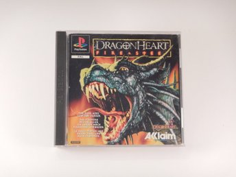 Playstation / 1 Ps1 -- Dragonheart Fire & Steel--  PAL