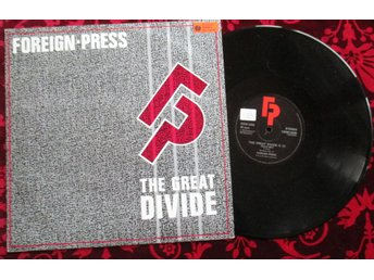 "12"" maxi: FOREIGN PRESS The Great Divide (UK 1983)"