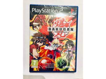 Bakugan battle brawlers på svenska  (NYTT PS2)