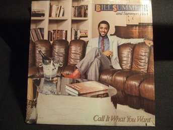 LP - BILL SUMMERS. Call it what you want. 1981
