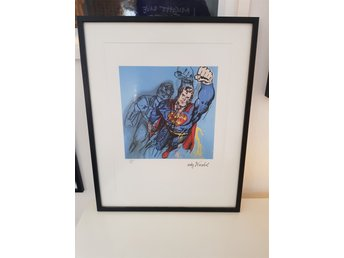 Andy Warhol Superman Numrerad