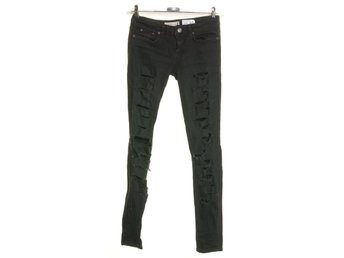 Perfect Jeans Gina Tricot, Jeans, Strl: 25, Isabella, Svart