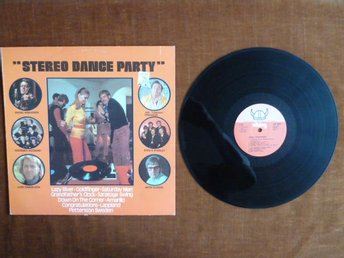 STEREO DANCE PARTY,  LP, LP-SKIVA
